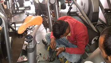 machine repair service centre